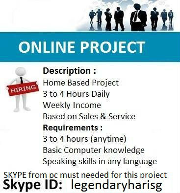 BECOME UR OWN BOSS***by only working 3 to 4 hours daily.!!!!