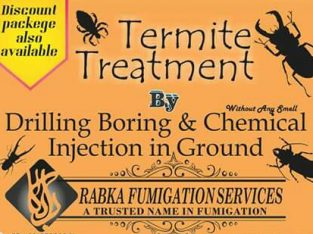 Rabka fumigation | termite treatment