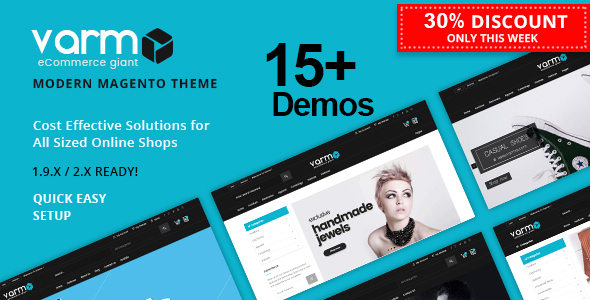 Buy a Modern and Creative Magento Multipurpose Responsive Theme!