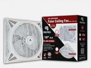 FANPRO Energy Saving 18″ 2×2 False Ceiling Fan